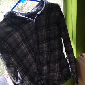 Grey Merona flannel